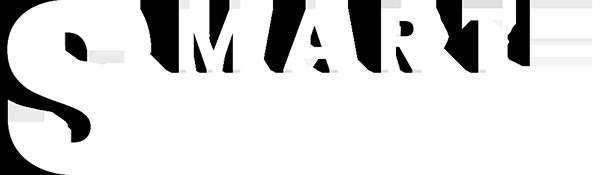 smart biography logo white
