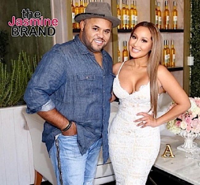 Adrienne-Bailon-with-her-ex-husband