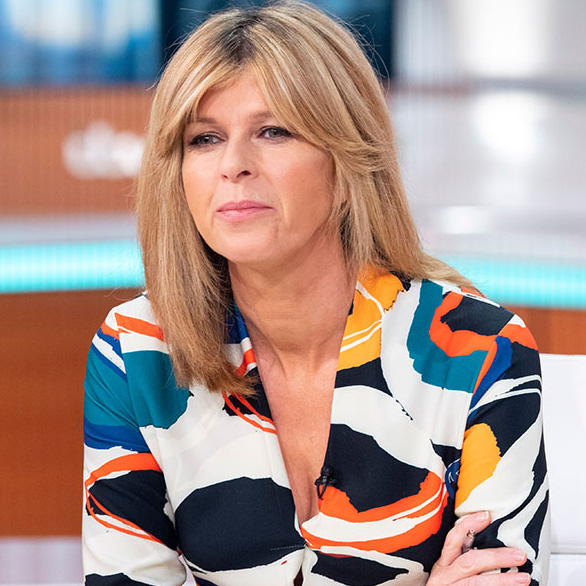 Kate Garraway revealing the shocking pregnancy