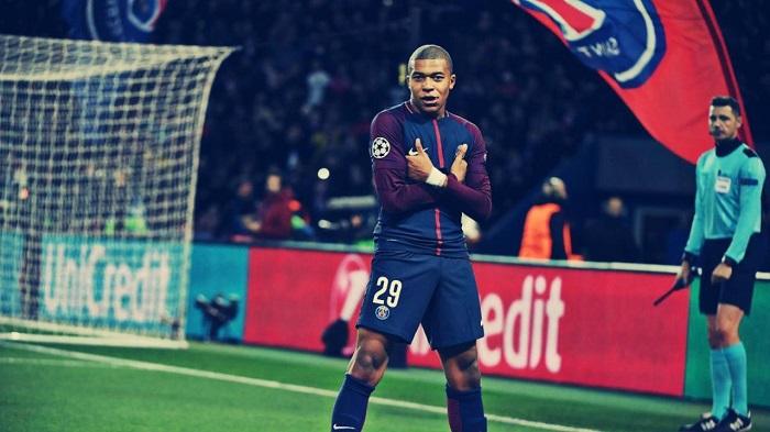 Kylian Mbappé Lottin is a French professional footballer.