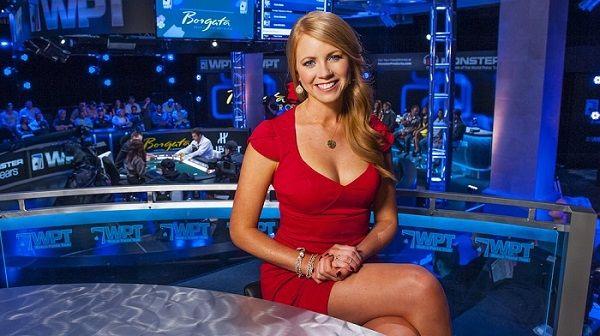 Lynn-Gilmartin in red dress
