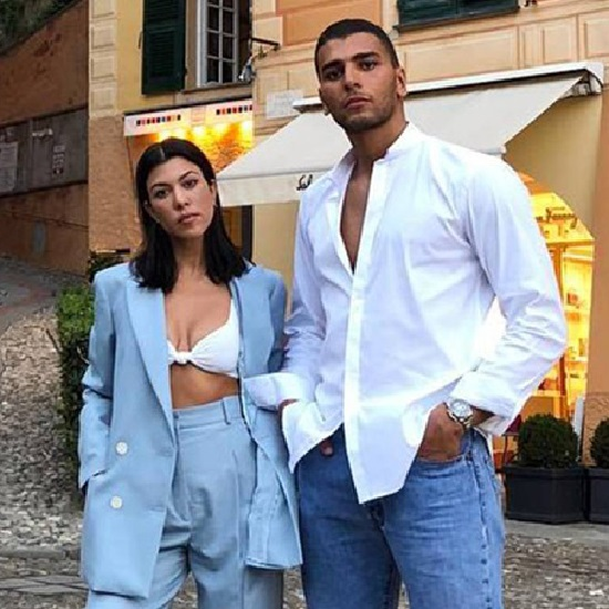Is Younes Bendjima back in the life of Kourtney Kardashian?