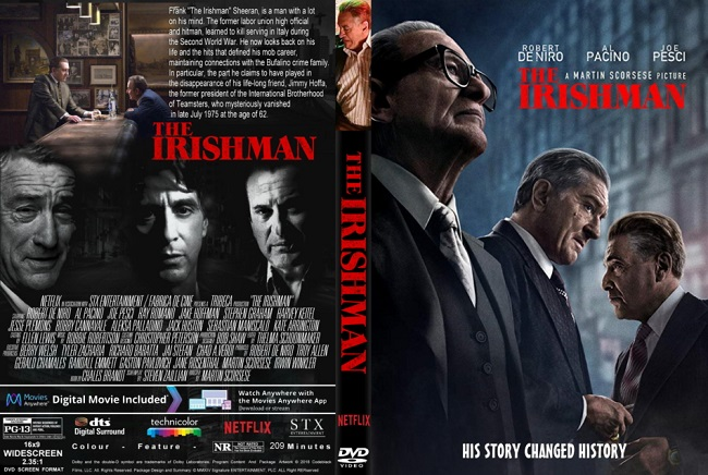 THE IRISHMAN Oscar nominations 2020