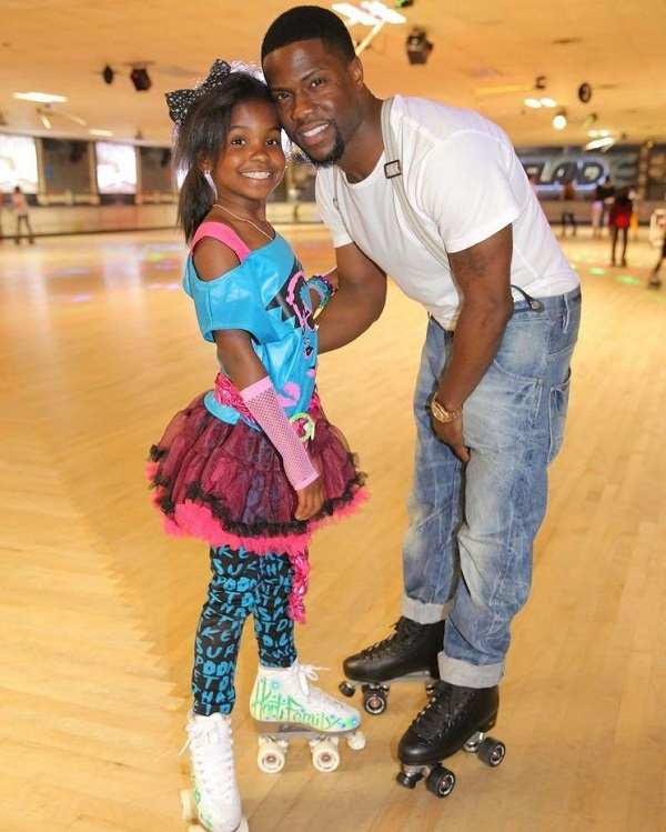 Heaven-Hart-with-her-father-Kevin-Hart