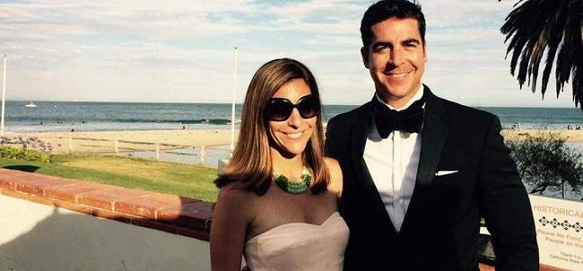 Noelle Watters with husband Jesse Watters