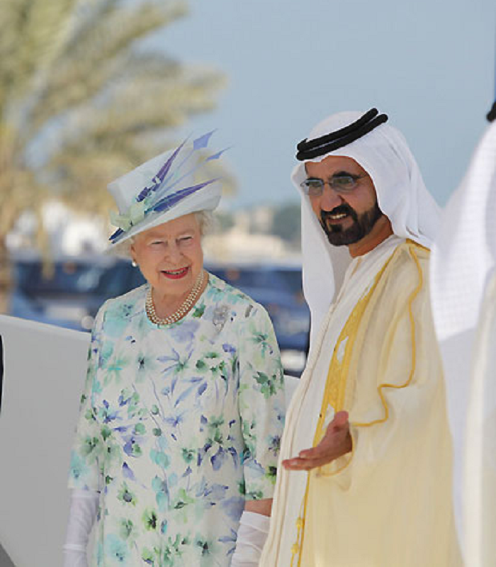 Queen Elizabeth II to cut her ties with Dubai ruler