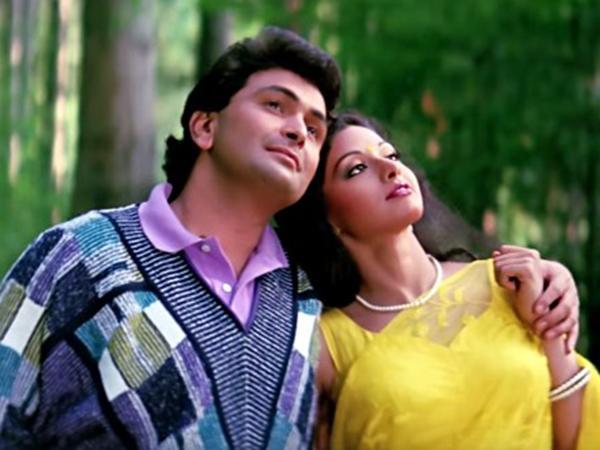 Rishi Kapoor Sridevi
