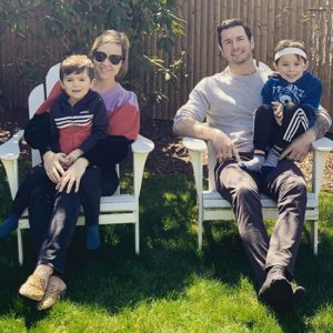 Chelsea Kilgore, jj redrick and son