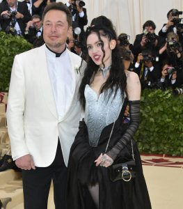 Elon Musk Girlfriend Grimes