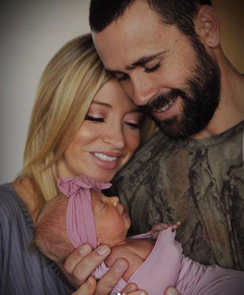 Kayleigh McEnany-husband Sean Gilmartin and daughter karen Gilmartin