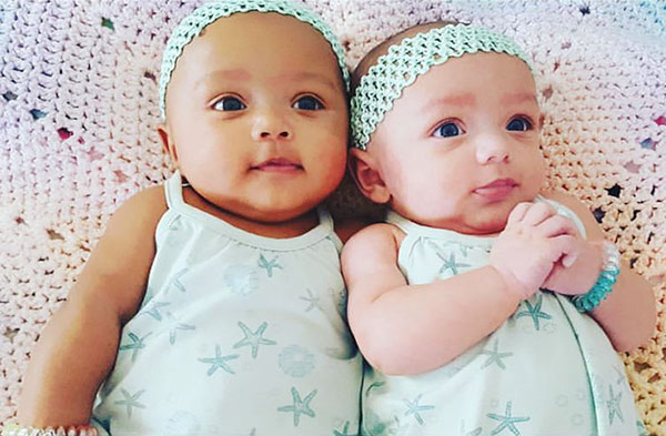 michale Jordan-Twins daughters
