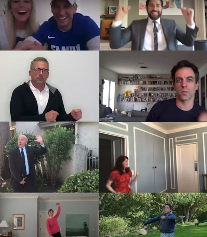 """""""The Office"""" cast reunites to shock fans with the virtual wedding, administered by John Krasinski"""