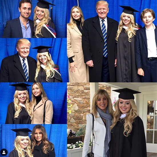 tiffany trump graduation