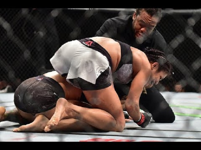 Cynthia Calvillo at mma