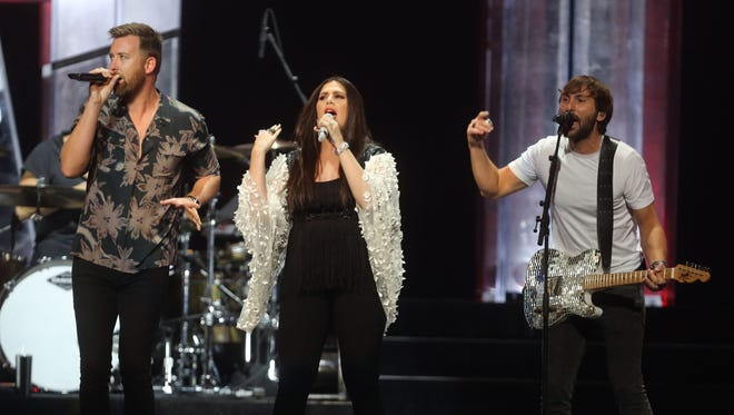 Lady A performing