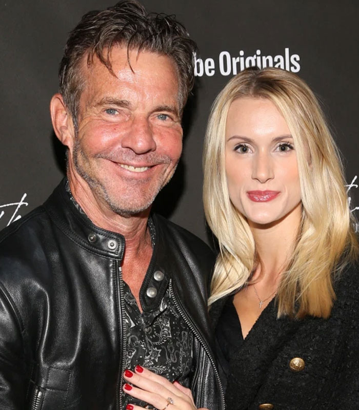 Dennis Quaid and Laura Savoie get married