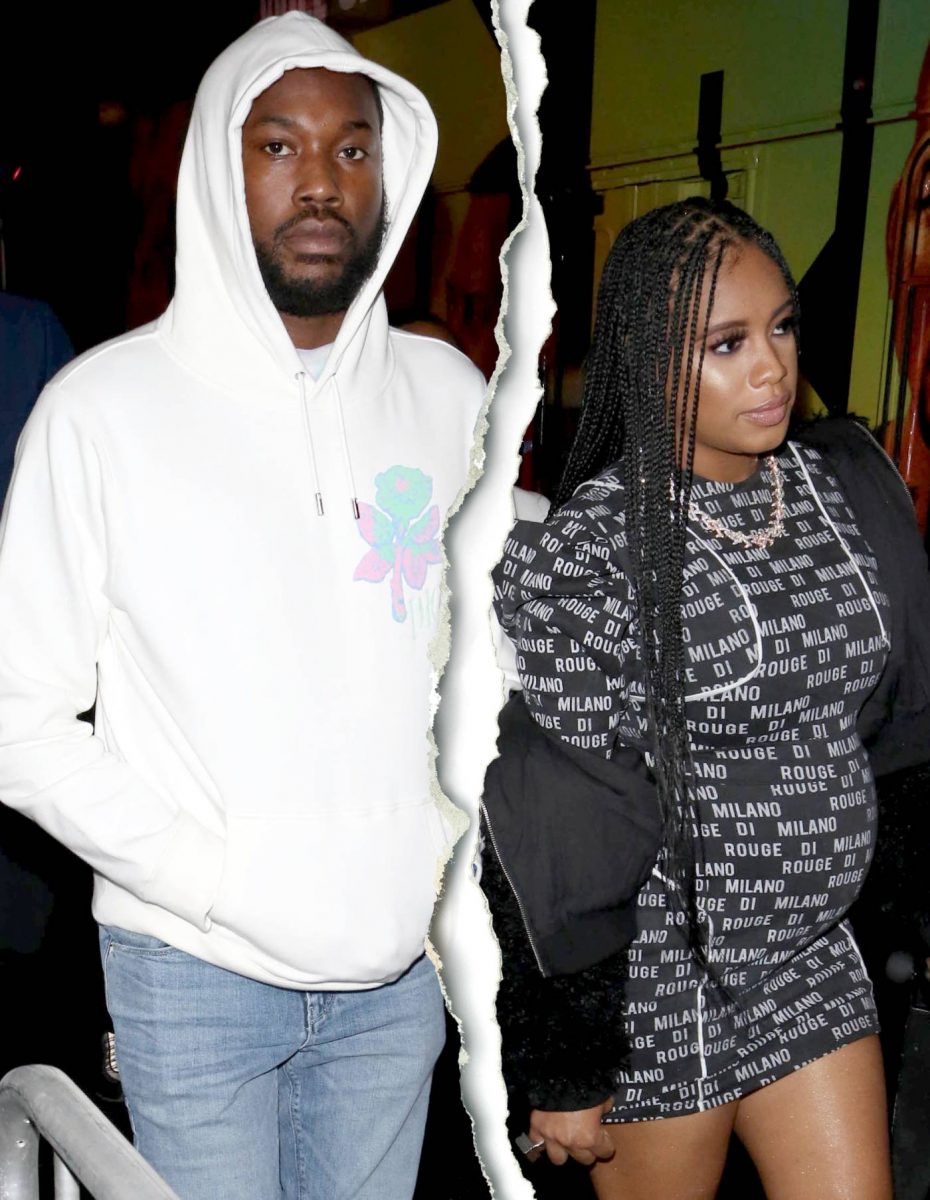 Meek Mill Splits From Girlfriend Milan Harris Days After Kanye West Tweets About Kim Kardashian Cheating With Rapper