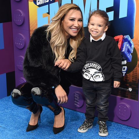 naya rivera son josey hollis