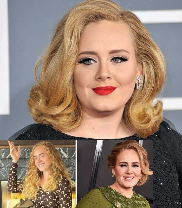 "Adele showed off her weight loss as she supported ""Queen"" Beyonce"