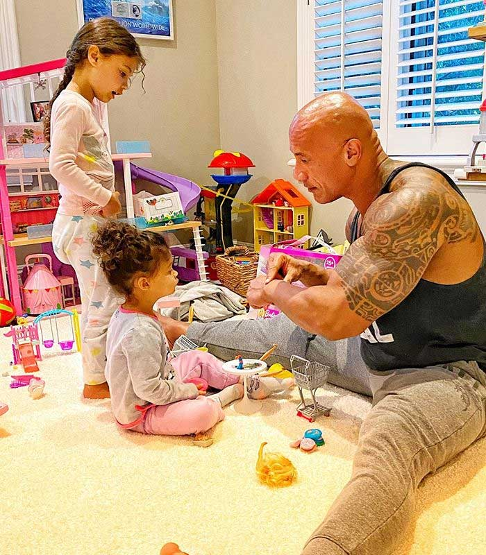 Dwayne Johnson says he and his family are on the mend from coronavirus