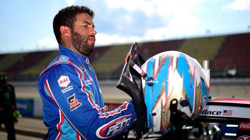 NASCAR-Driver-Bubba-Wallace