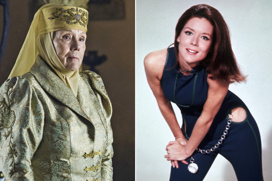 diana rigg movies