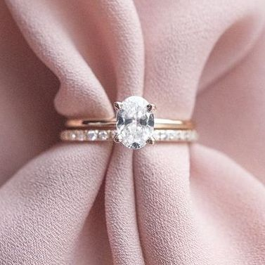 engagement ring oval for cancer