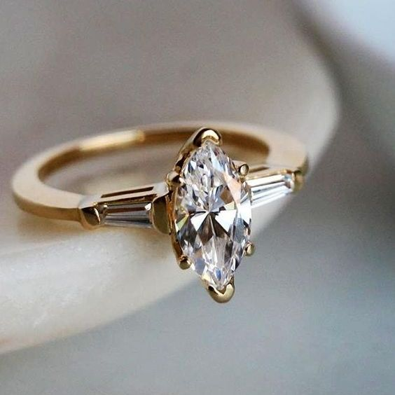 engagement ring marquise for aries