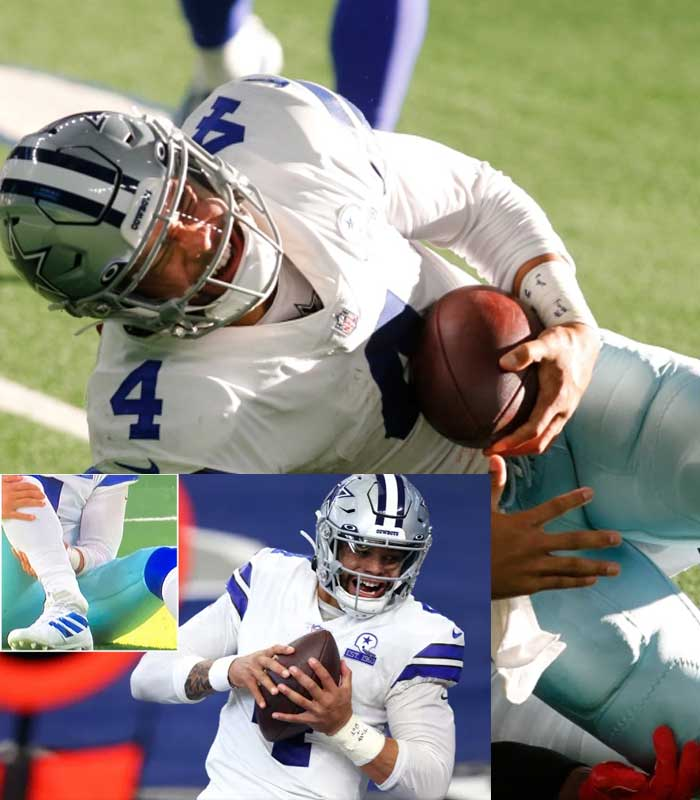 Cowboys QB Dak Prescott Suffers Gruesome Ankle Injury In Giants Game, Will Have Surgery Sunday Night