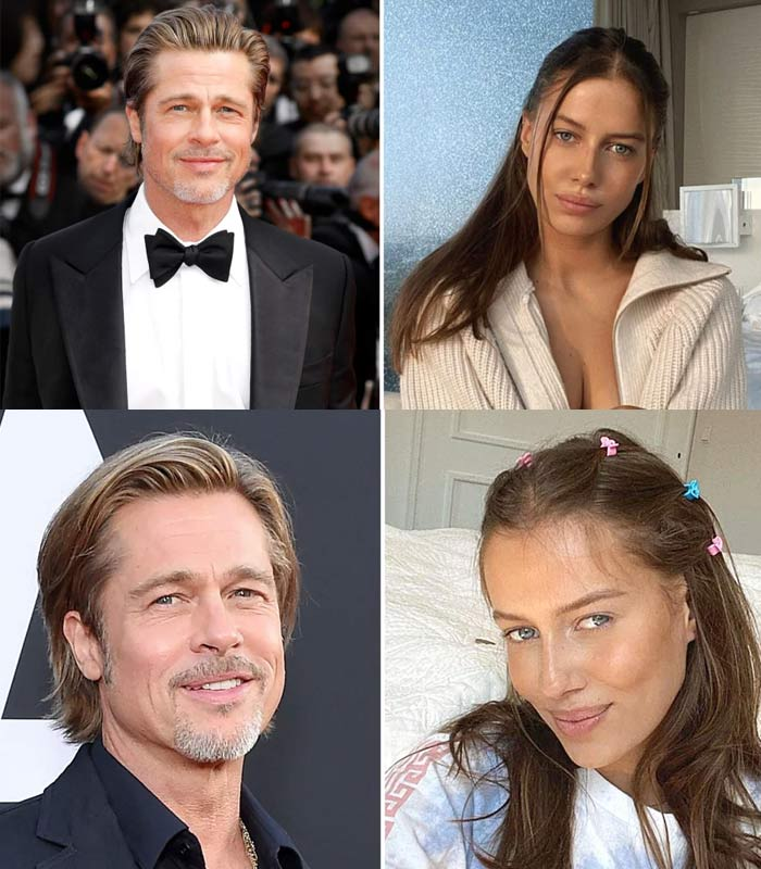 Brad Pitt and girlfriend Nicole Poturalski break up