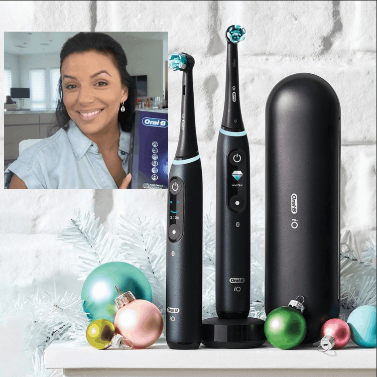 Eva Longoria Describes About Oral-B iO