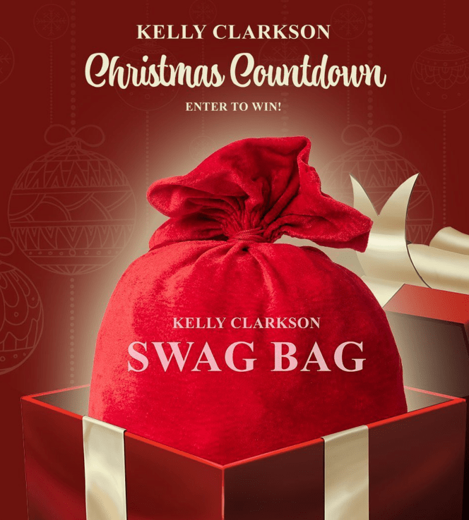 Only Two Days Left In The Kelly Christmas Countdown: Swag Bag