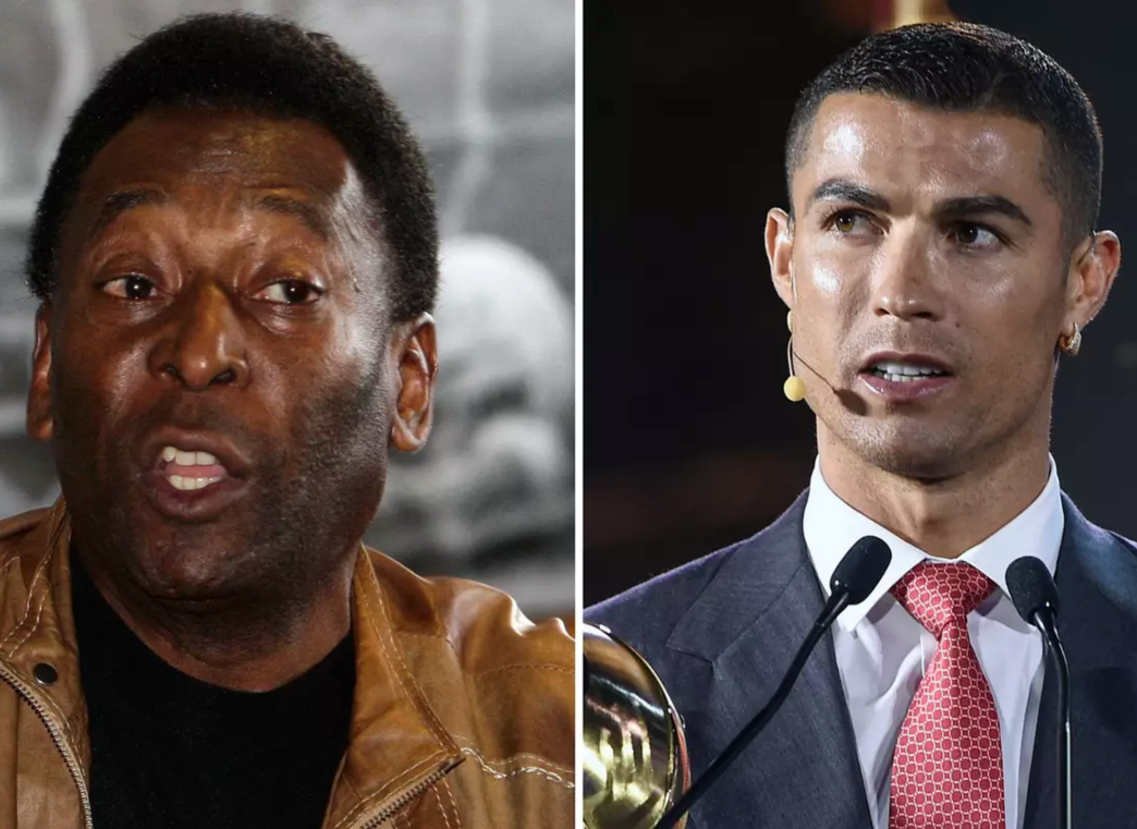 The Juventus Superstar Cristiano Ronaldo Has Surpassed Football Legend Pele's Official Goal of 757
