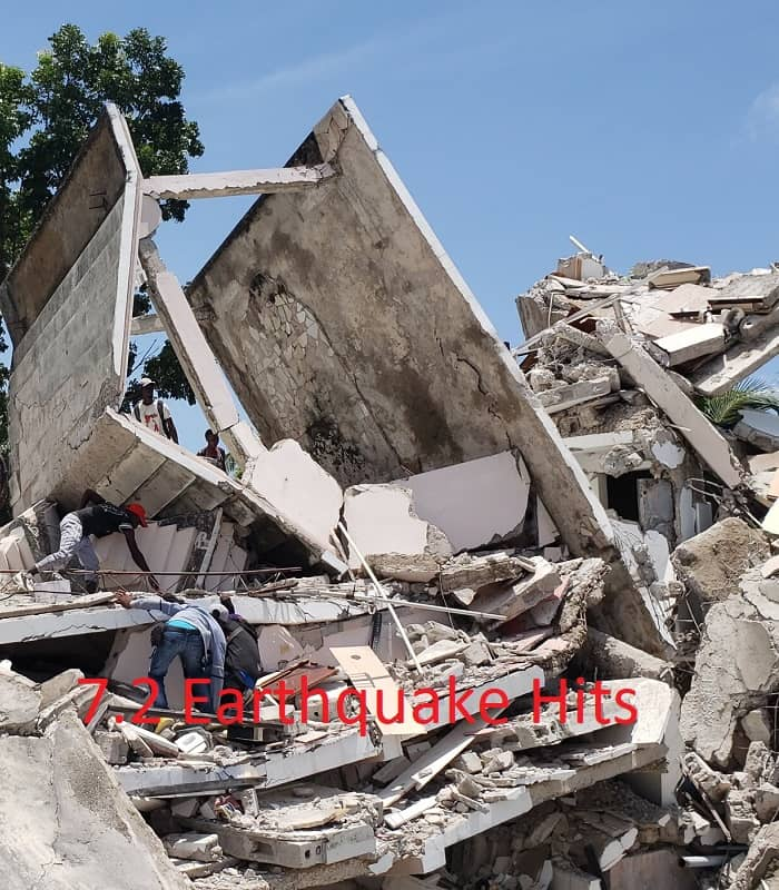 Haiti Hits With 7.2 Earthquake!! 300 Dead and More to Go…